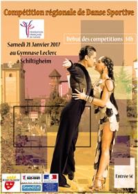 Compétition Régionale de Danse Sportive