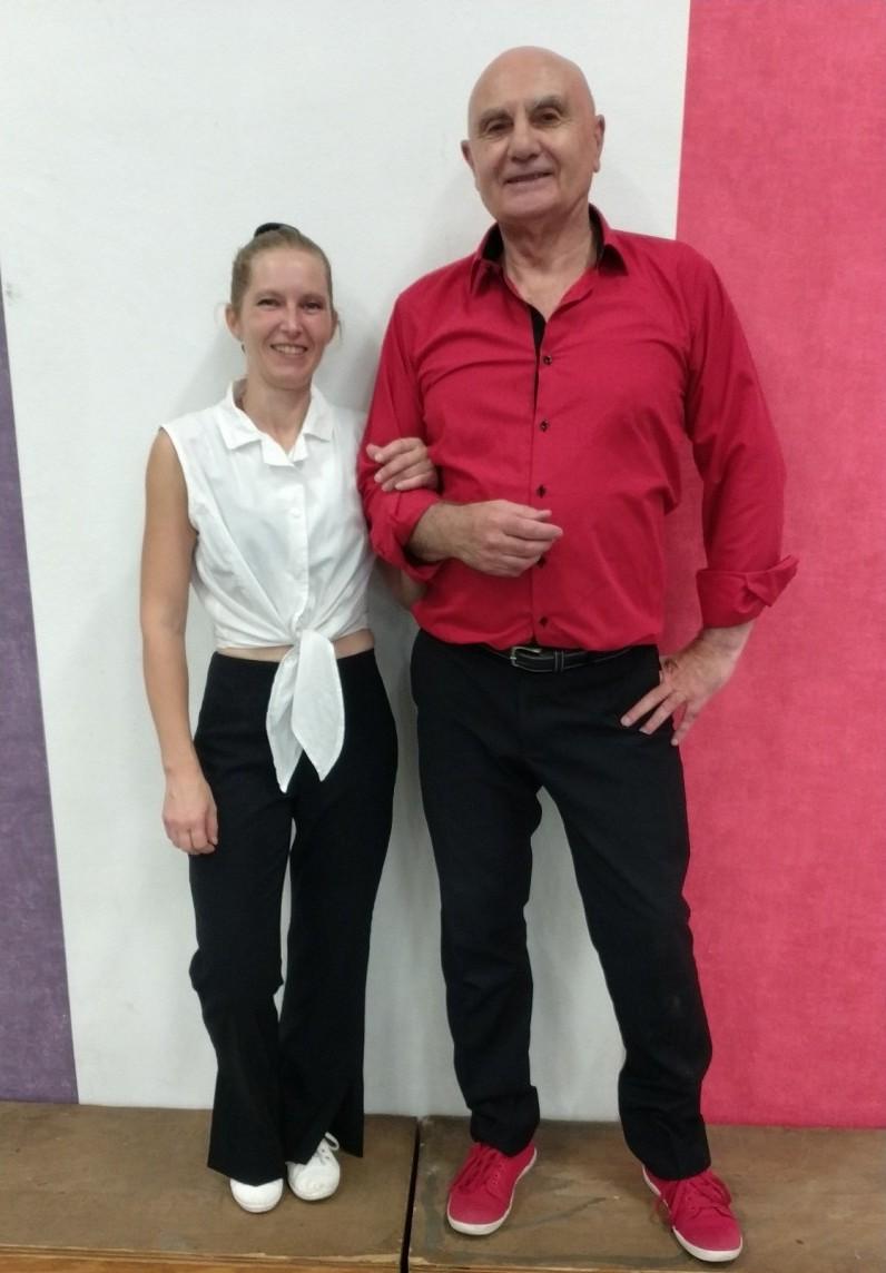 Jean-Paul Volle et Cécile Stauffer